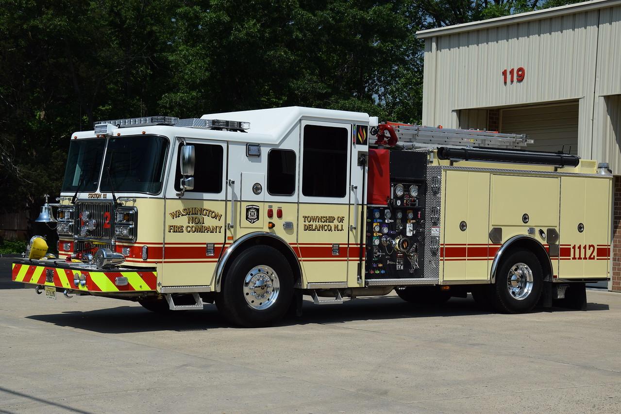 Washington FC #1, Delanco Engine 1112