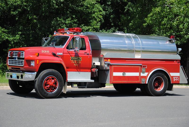 Franklin Fire Company, Columbus Tender 3316