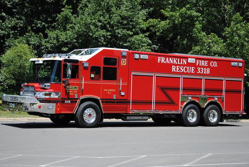 Franklin Fire Company, Columbus Rescue 3318