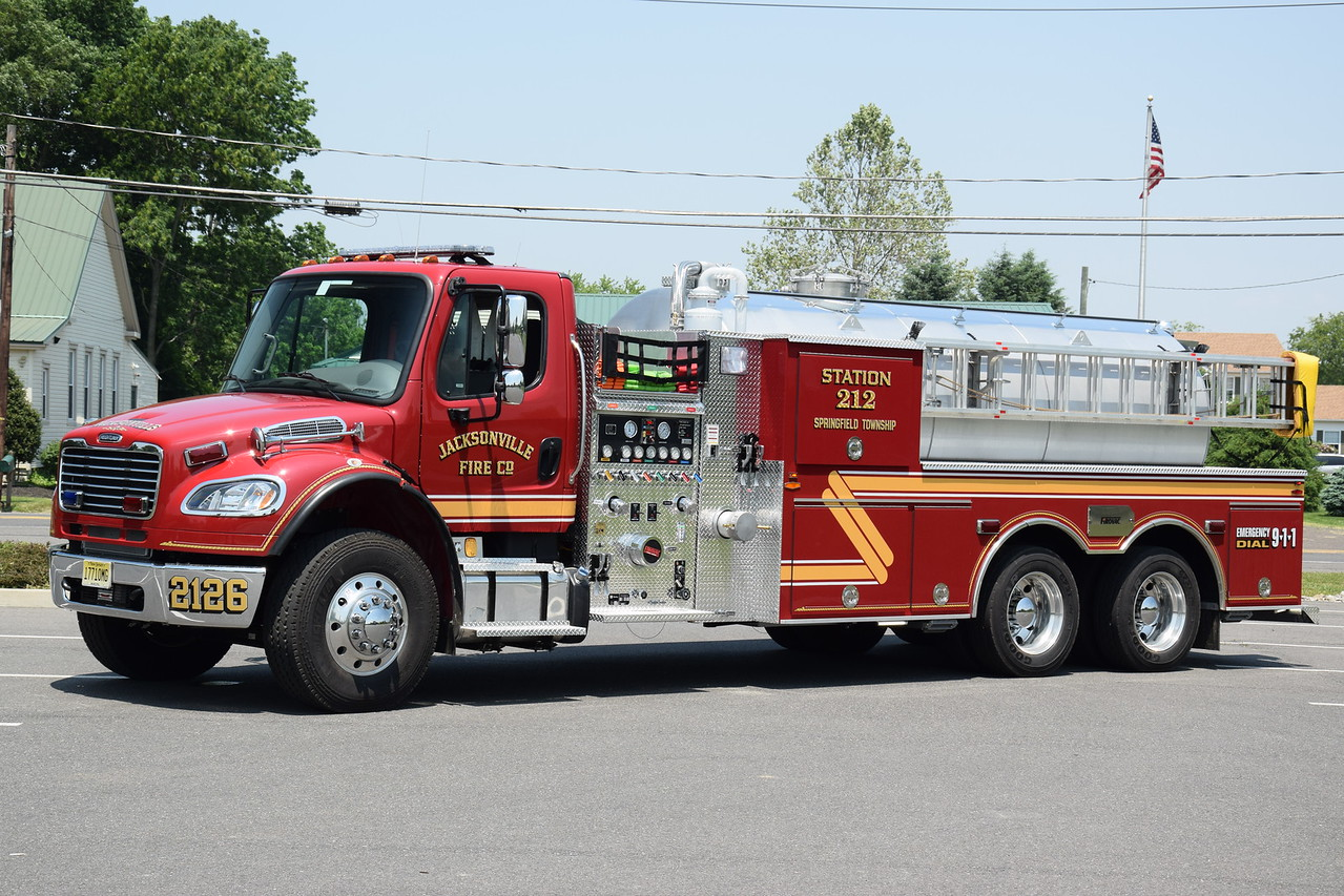 Jacksonville Fire Company, Springfield Twp Tanker 2126