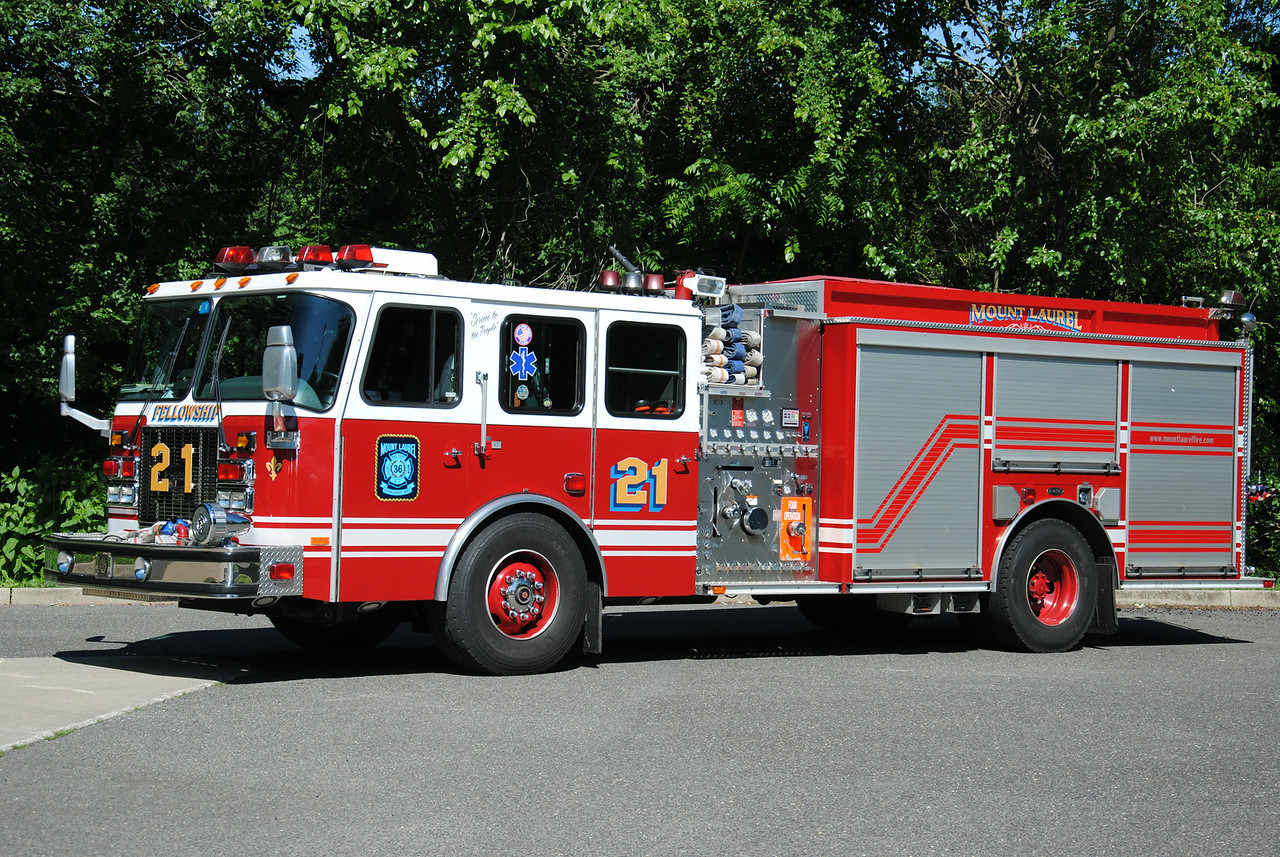 Mount Laurel Fire Department, Mount Laurel Engine 3621