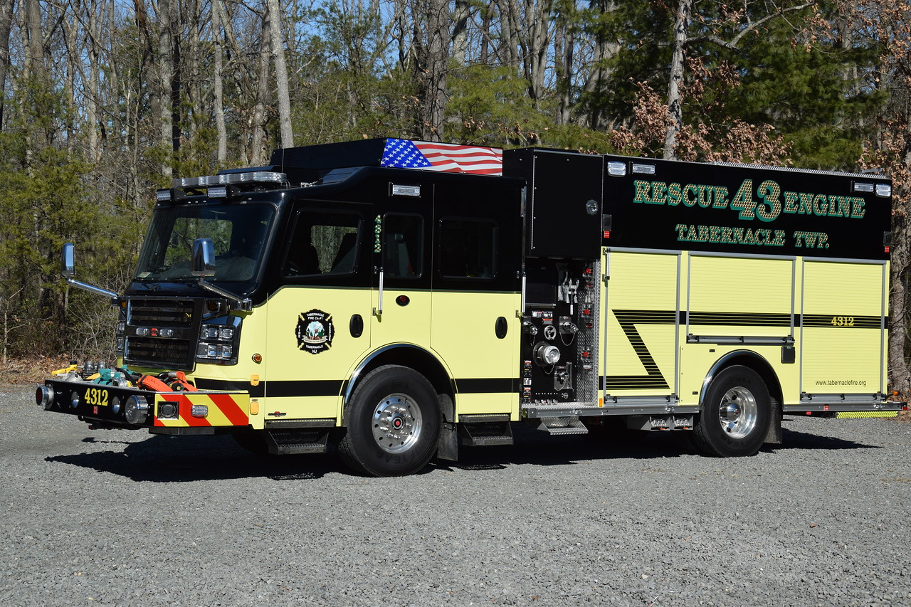 Tabernacle Fire Company #1 Rescue Engine 4312
