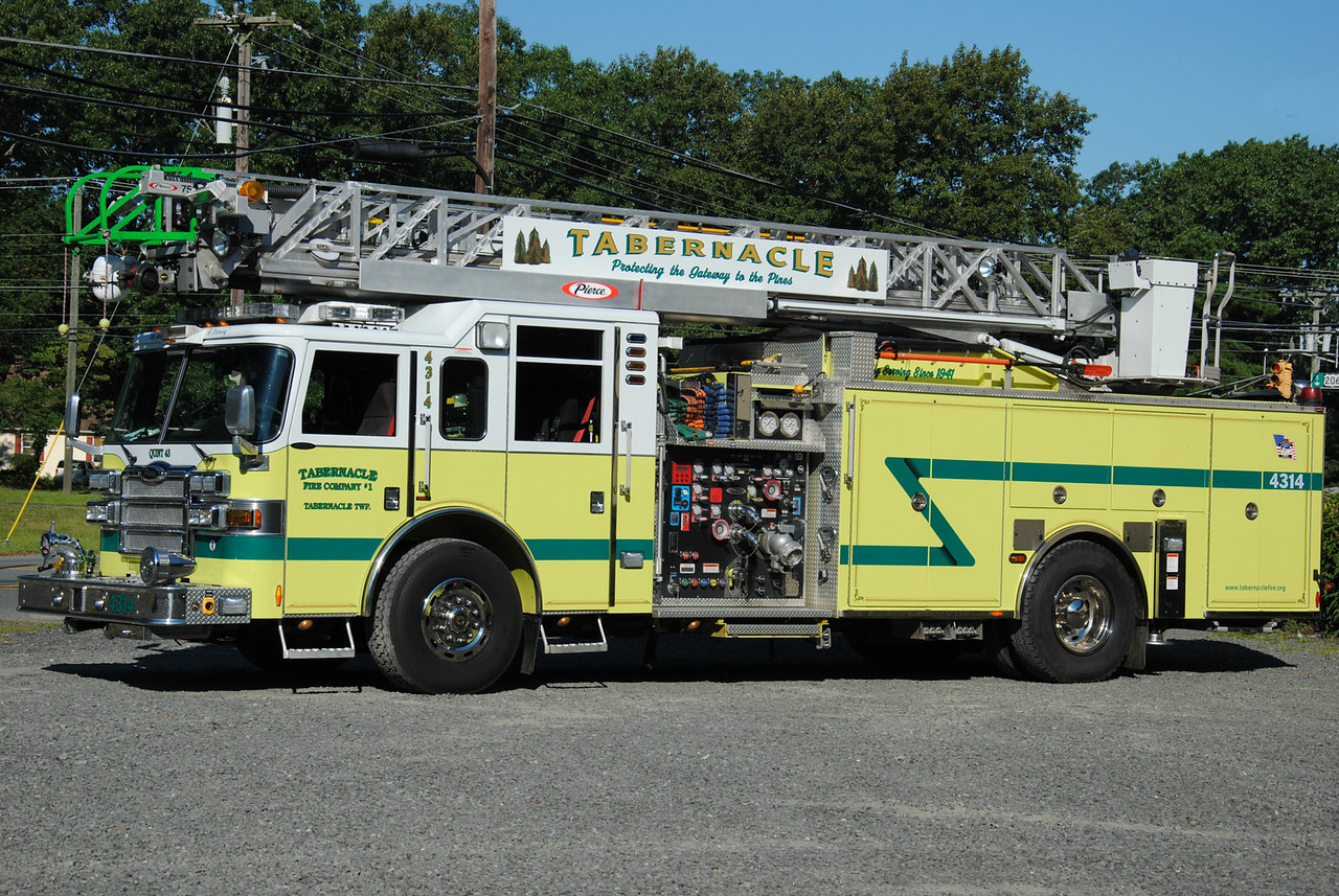 Tabernacle Fire Company #1 Quint 4314