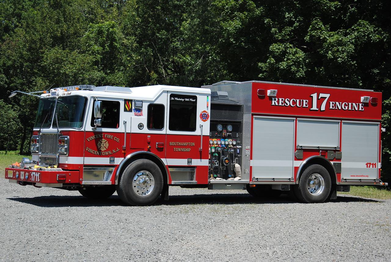 Vincent Fire Company, Vincentown Engine 1711