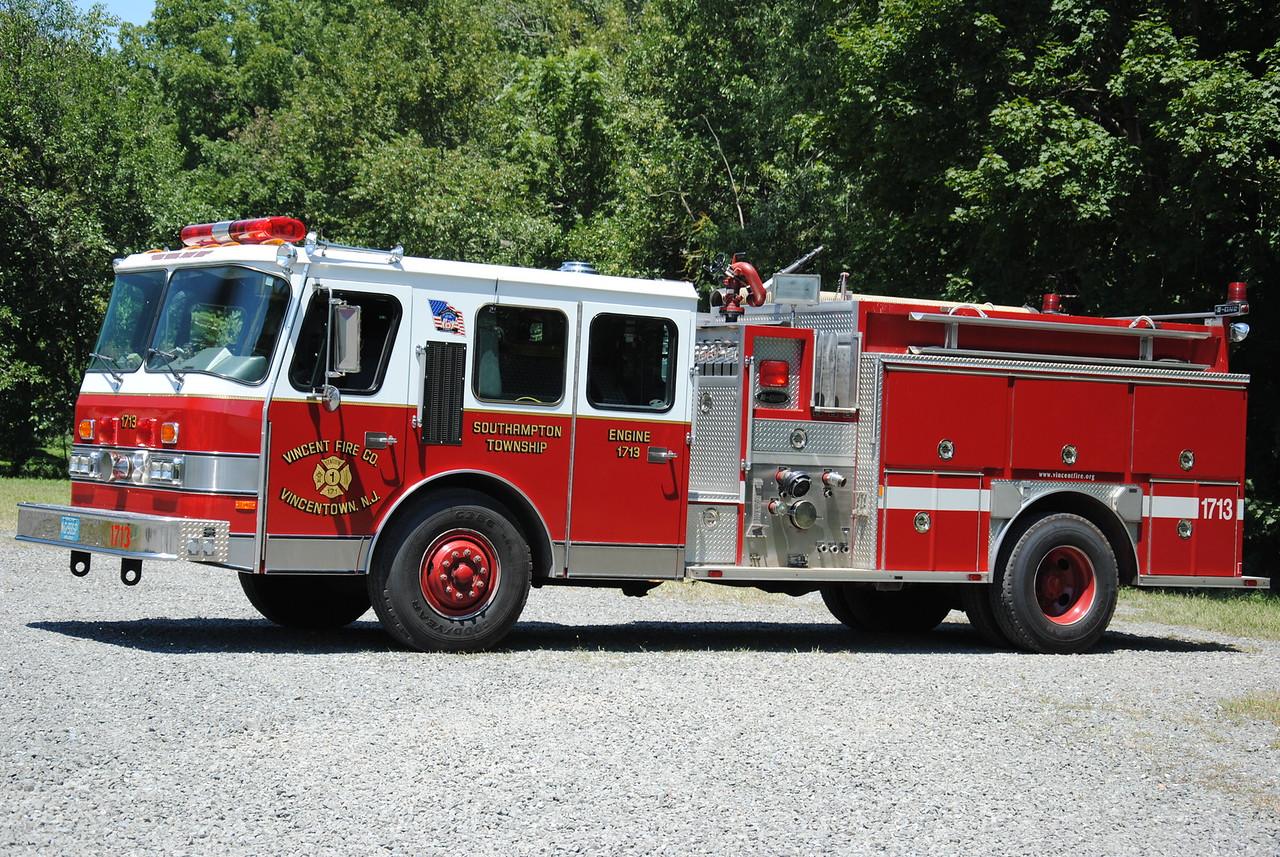 Vincent Fire Company, Vincentown Engine 1713