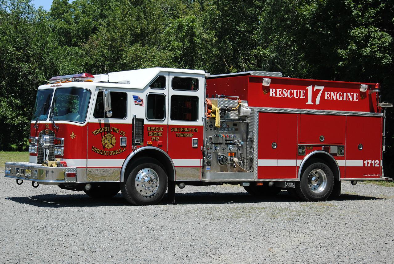 Vincent Fire Company, Vincentown Rescue Engine 1712
