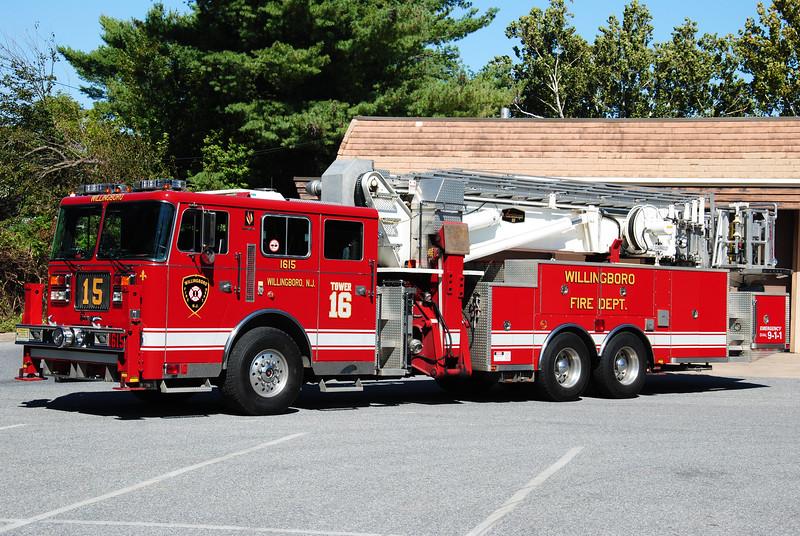 Willingboro Fire Department, Willingboro Tower 1615