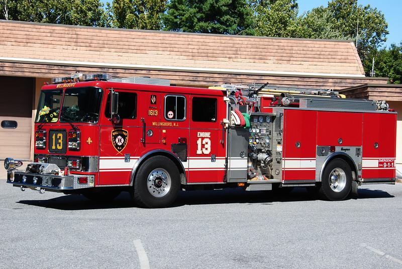 Willingboro Fire Department, Willingboro Rescue-Engine 1613