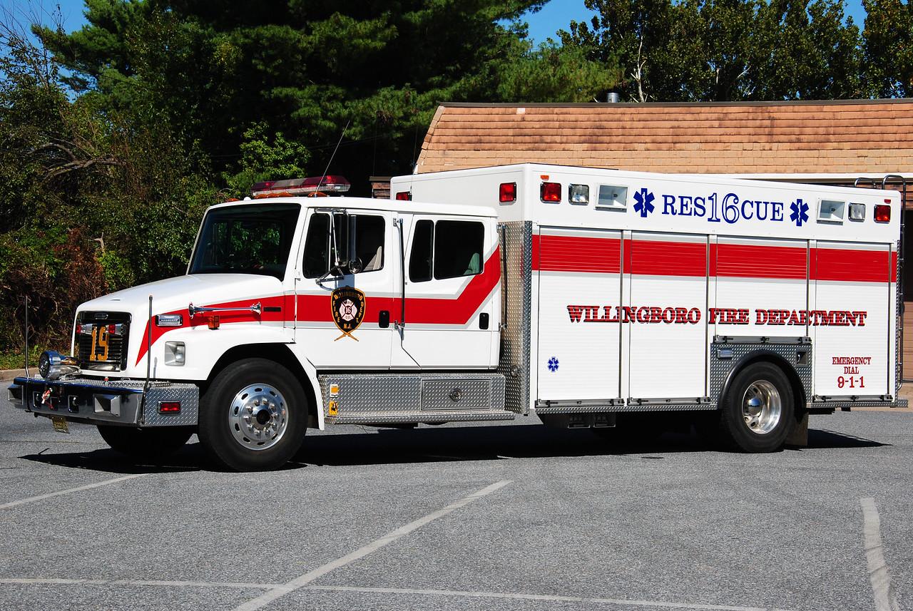 Willingboro Fire Department, Willingboro Rescue 1619