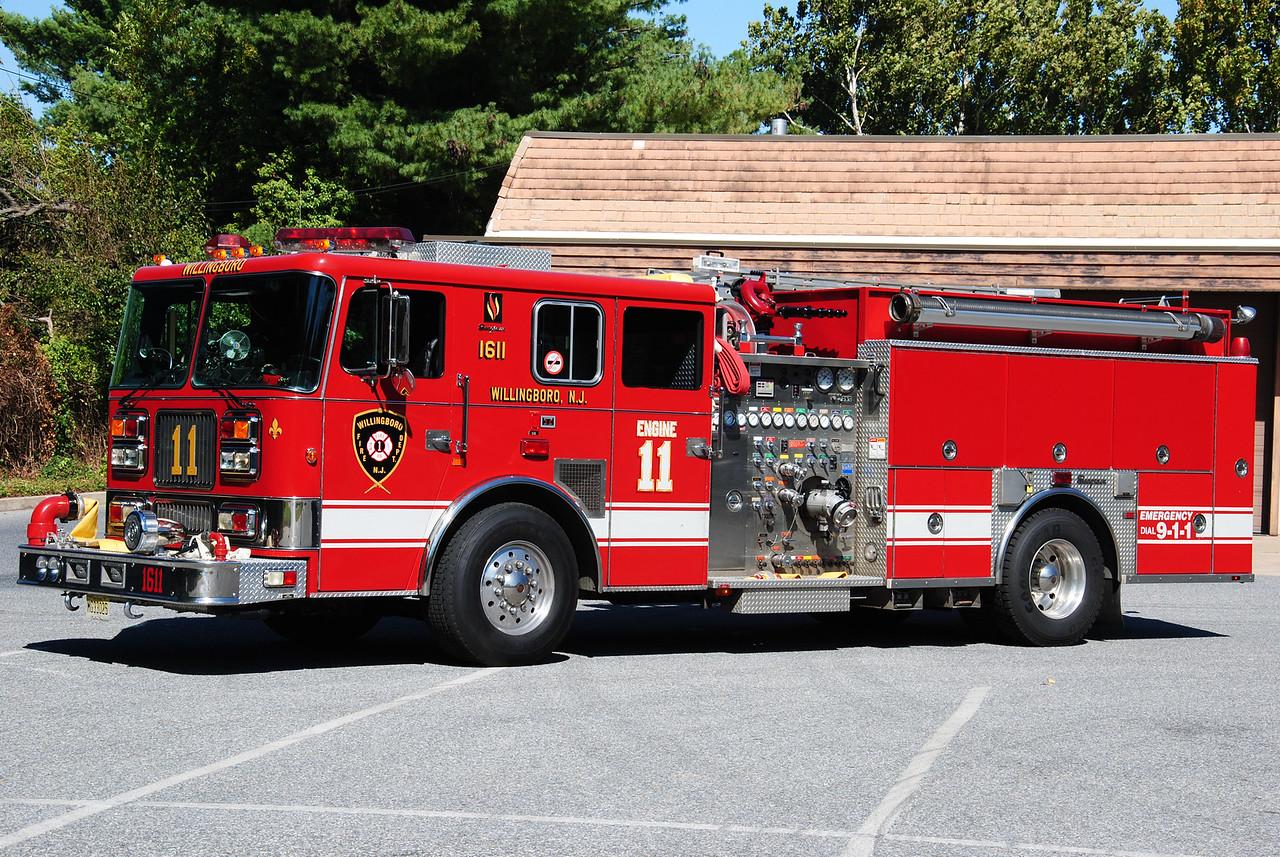 Willingboro Fire Department, Willingboro Engine 1611
