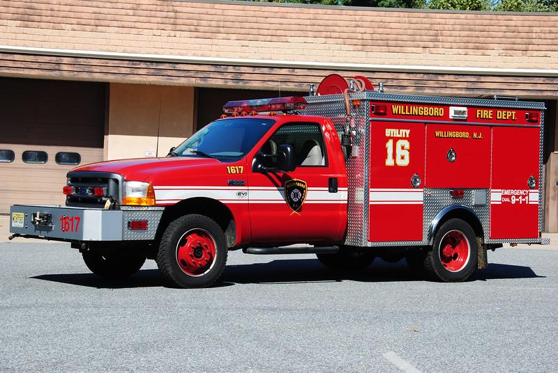 Willingboro Fire Department, Willingboro Brush 1617