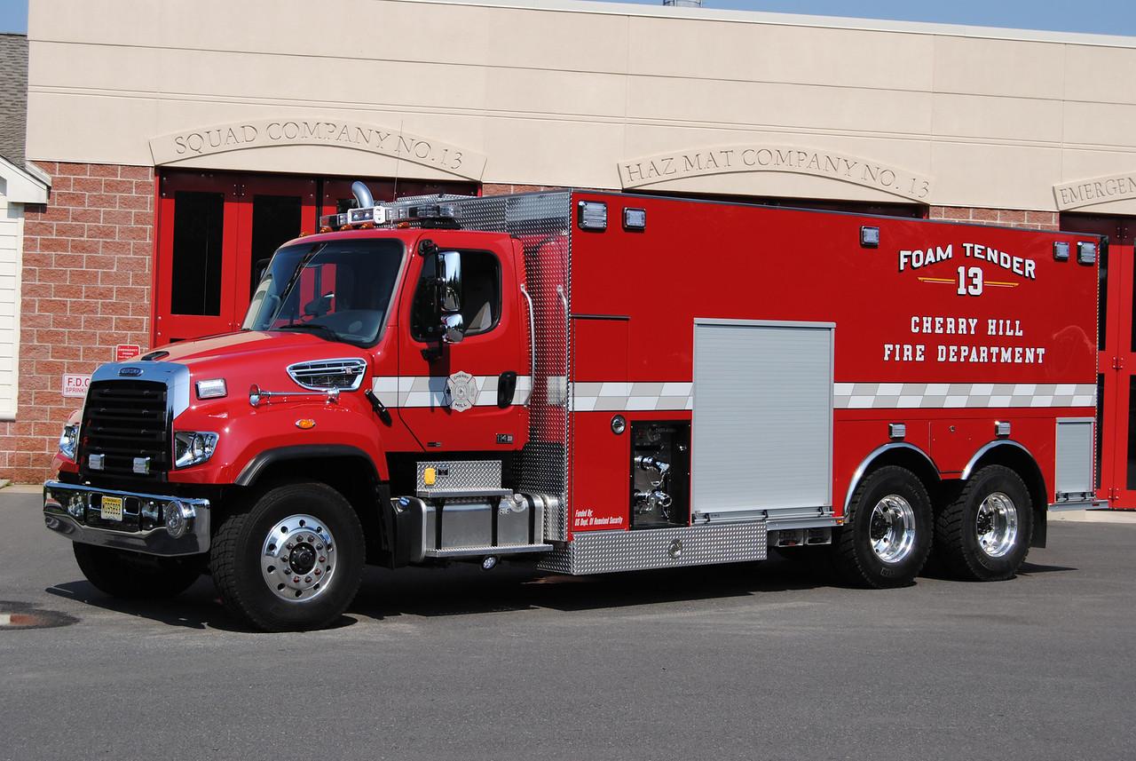 Cherry Hill Fire Department Foam 13
