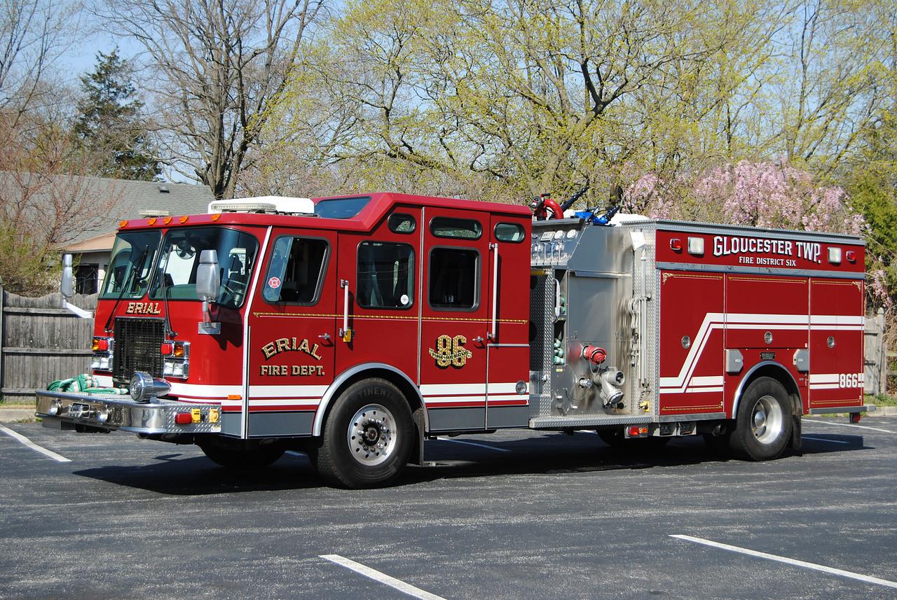 Erial Fire Company, Gloucseter Twp Squad 866