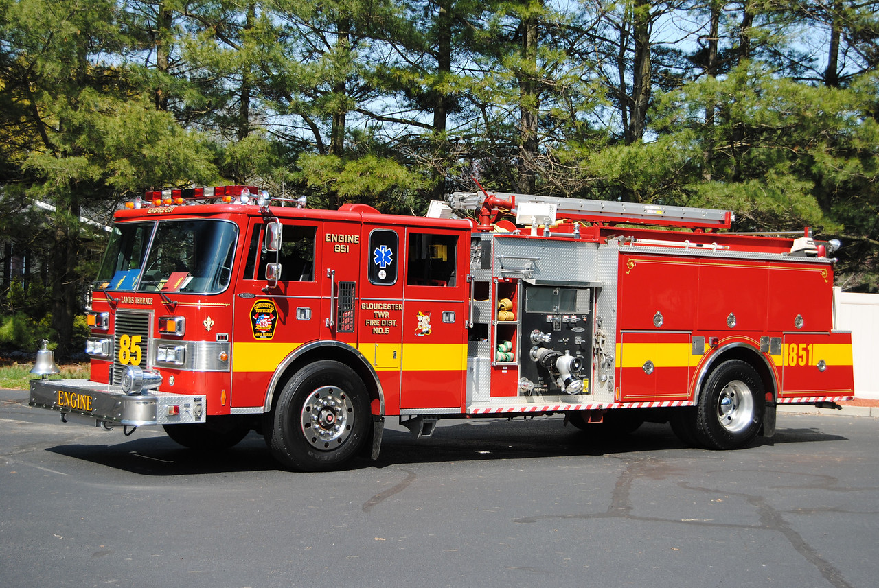 Lambs Terrace Fire Company, Gloucester Twp Engine 851