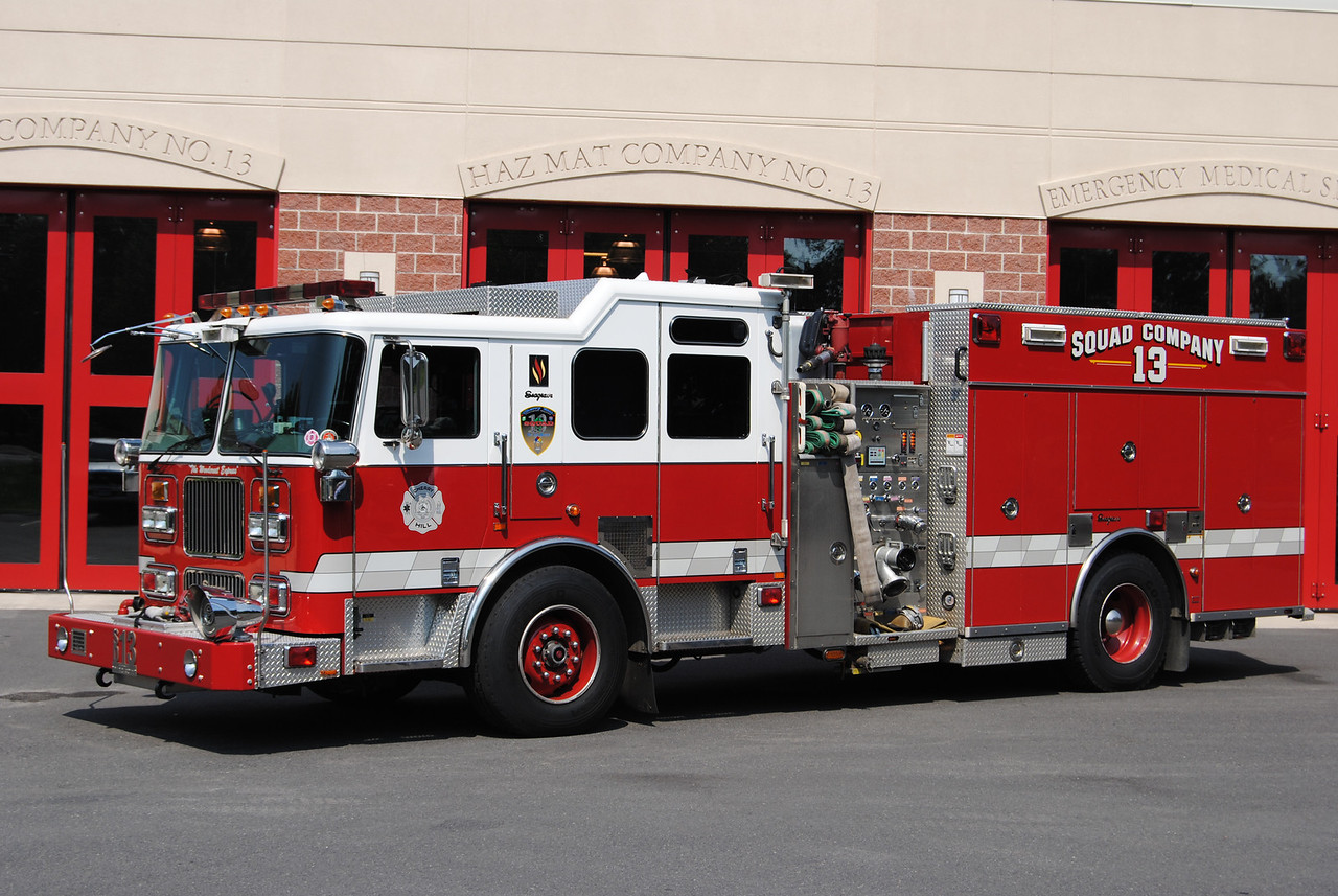 Cherry Hill Fire Department Squad 13