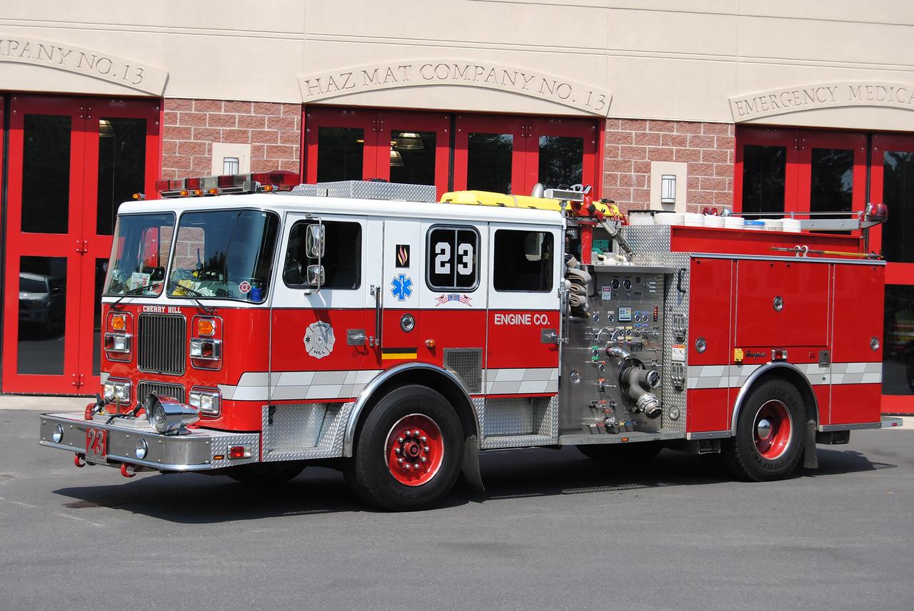 Cherry Hill Fire Department Engine 13-23