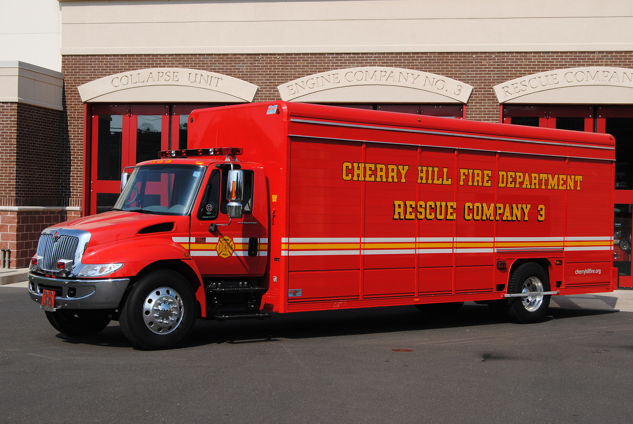 Cherry Hill Fire Department Collpase 13