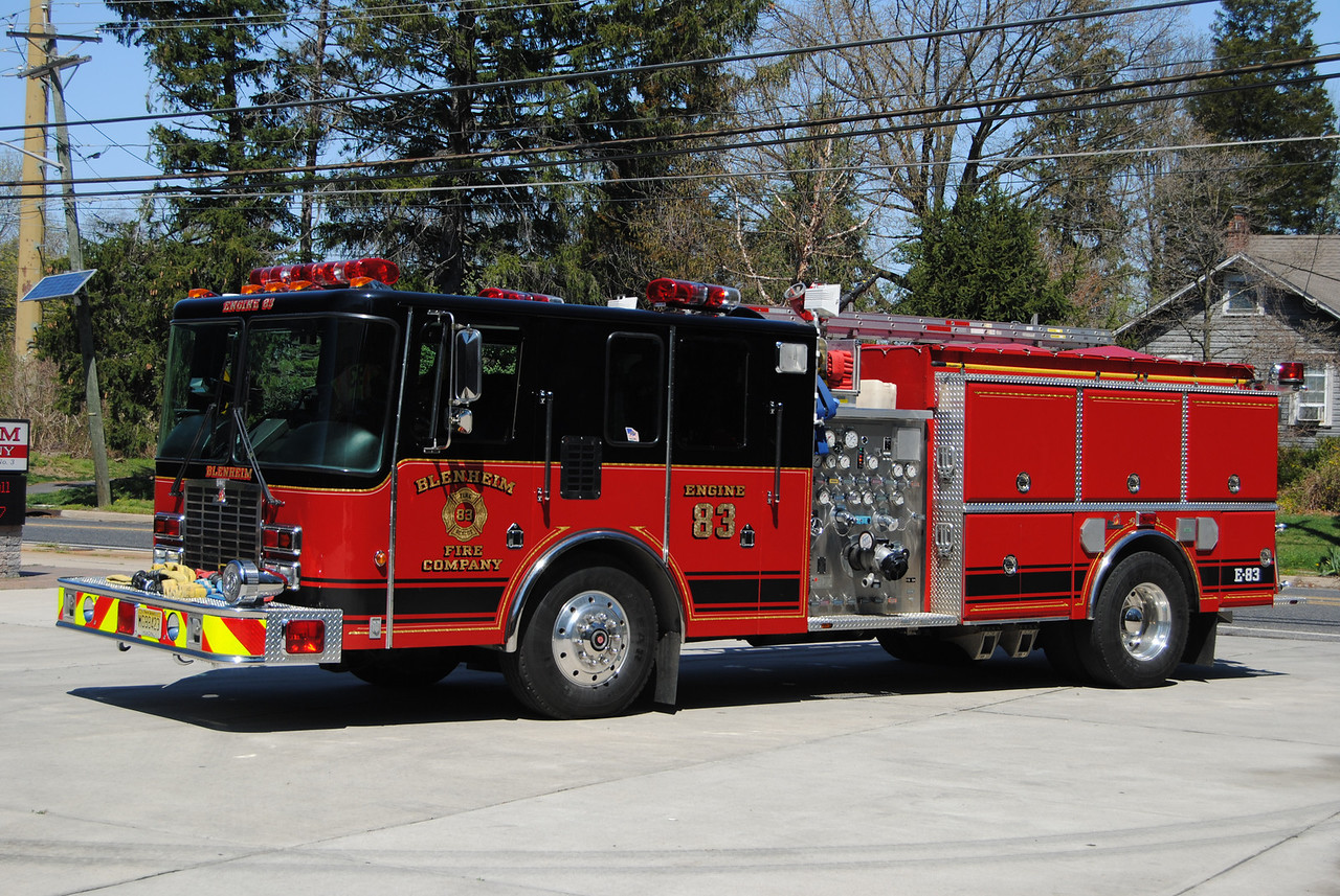 Blenheim Fire Company, Gloucester Twp Engine 83