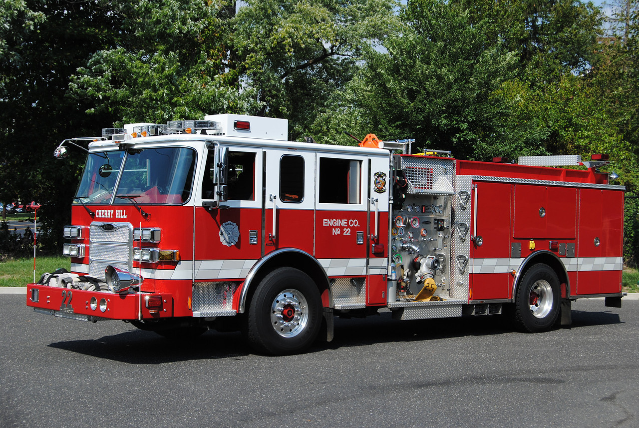 Cherry Hill Fire Department Engine 13-22