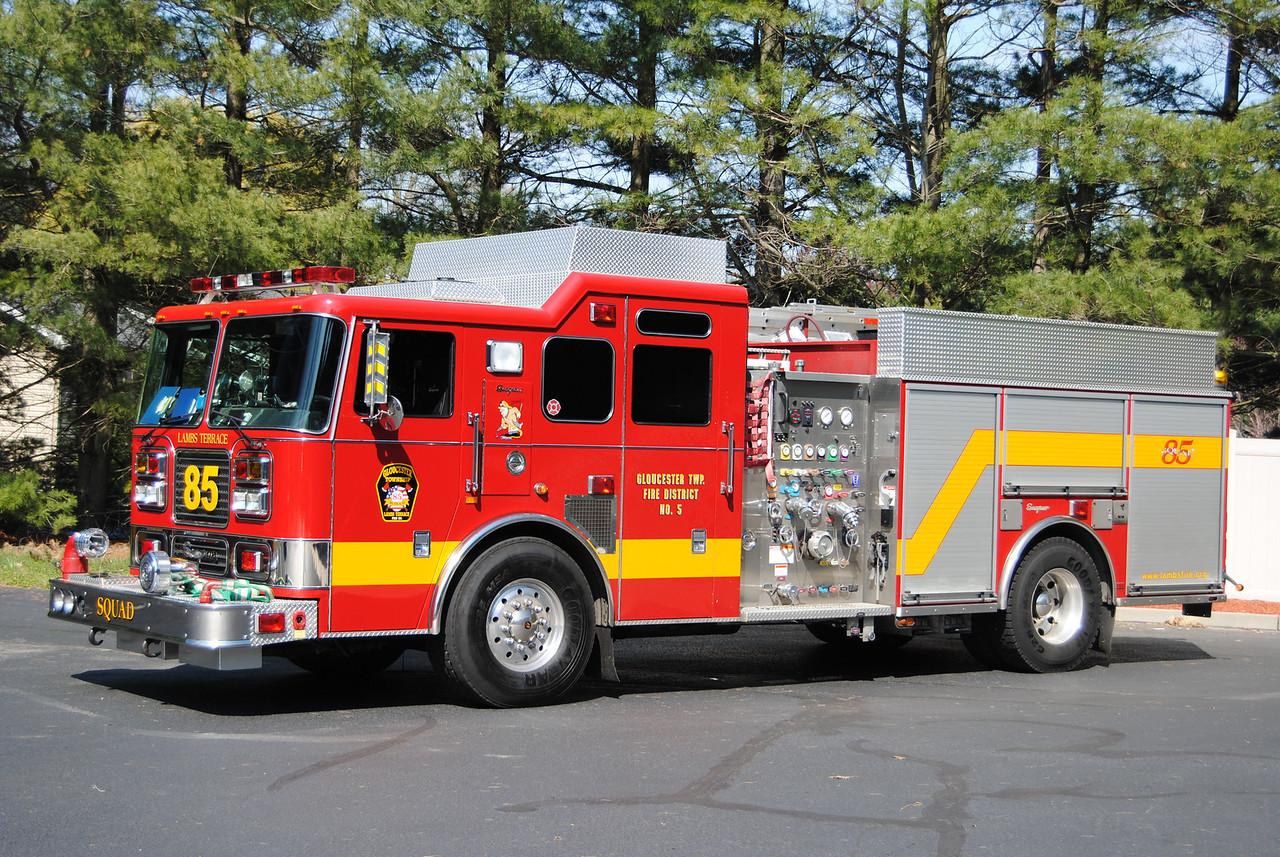 Lambs Terrace Fire Company, Gloucester Twp Sqaud 85