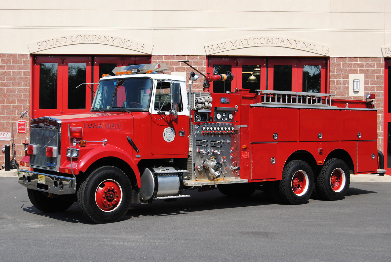 Cherry Hill Fire Department Ex-Foam 13