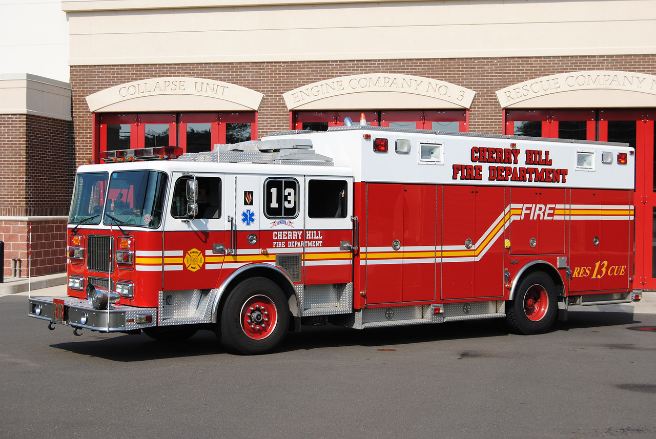 Cherry Hill Fire Department Rescue 13