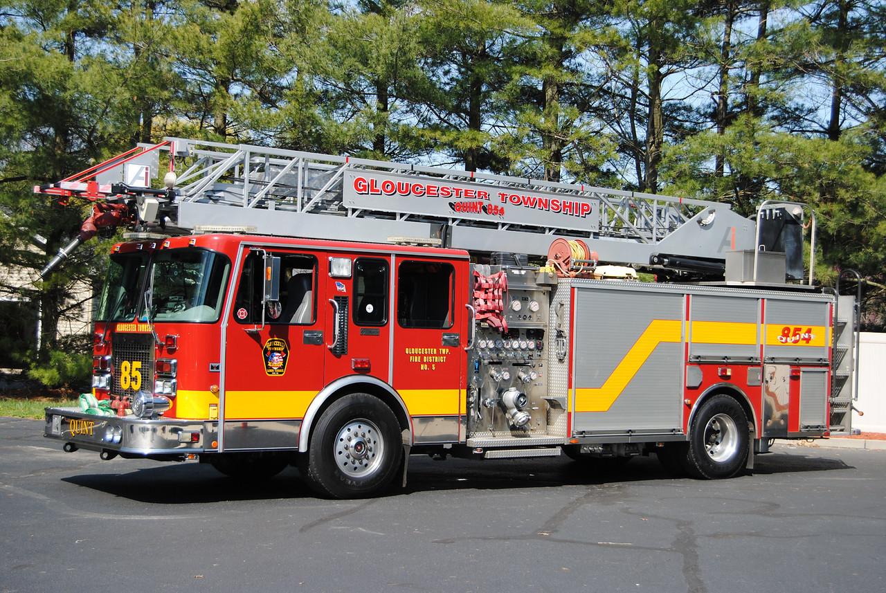 Lambs Terrace Fire Company, Gloucester Twp Quint 851
