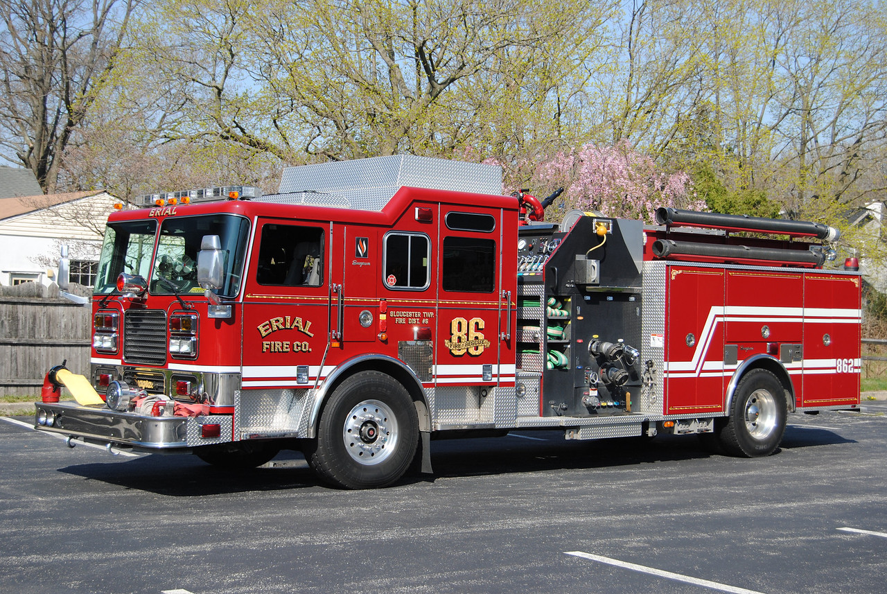 Erial Fire Company, Gloucseter Twp Engine 862