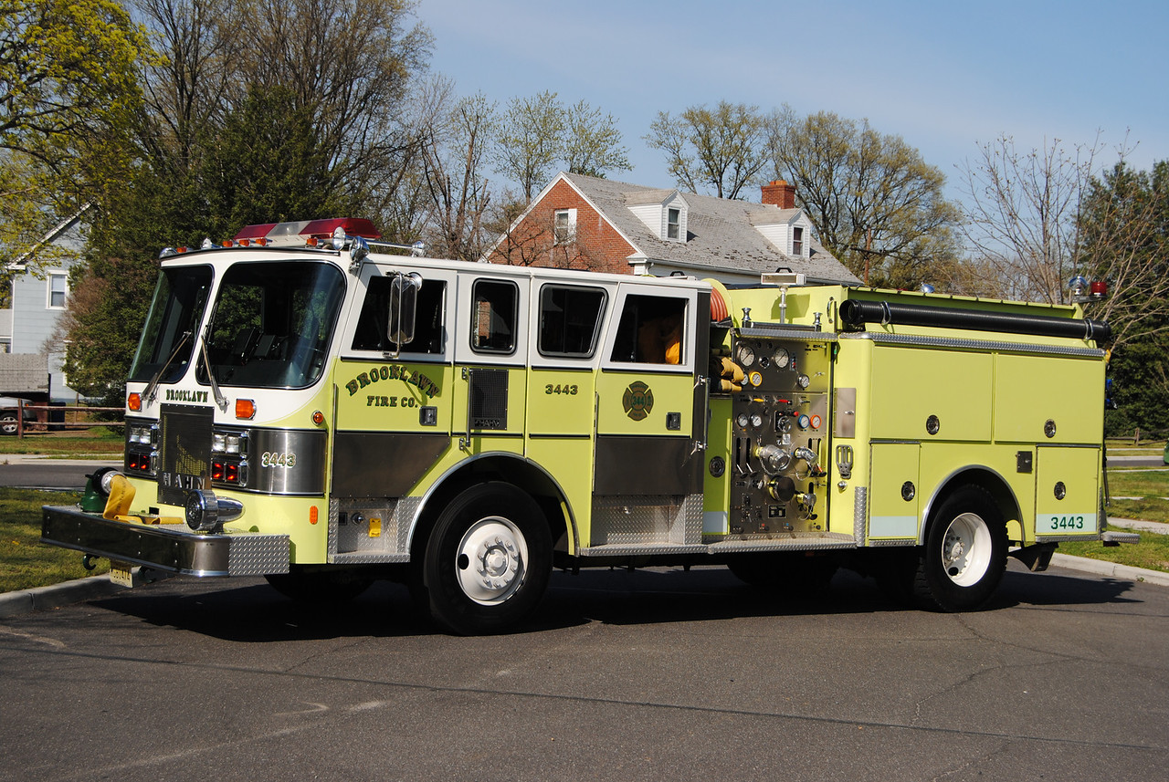 Brooklawn Fire Company, Brooklawn Engine 3443