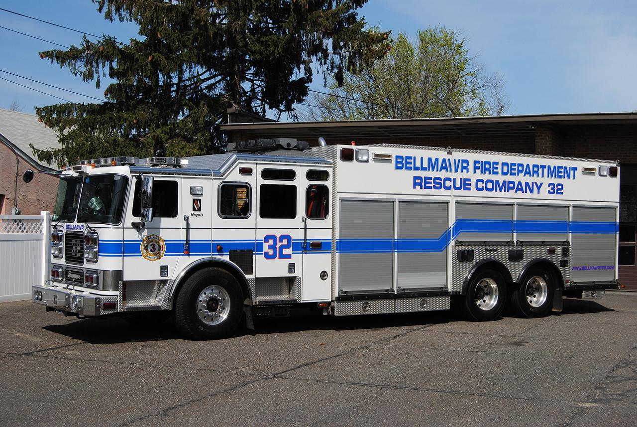 Bellmawr Fire Department Heavy Rescue 32
