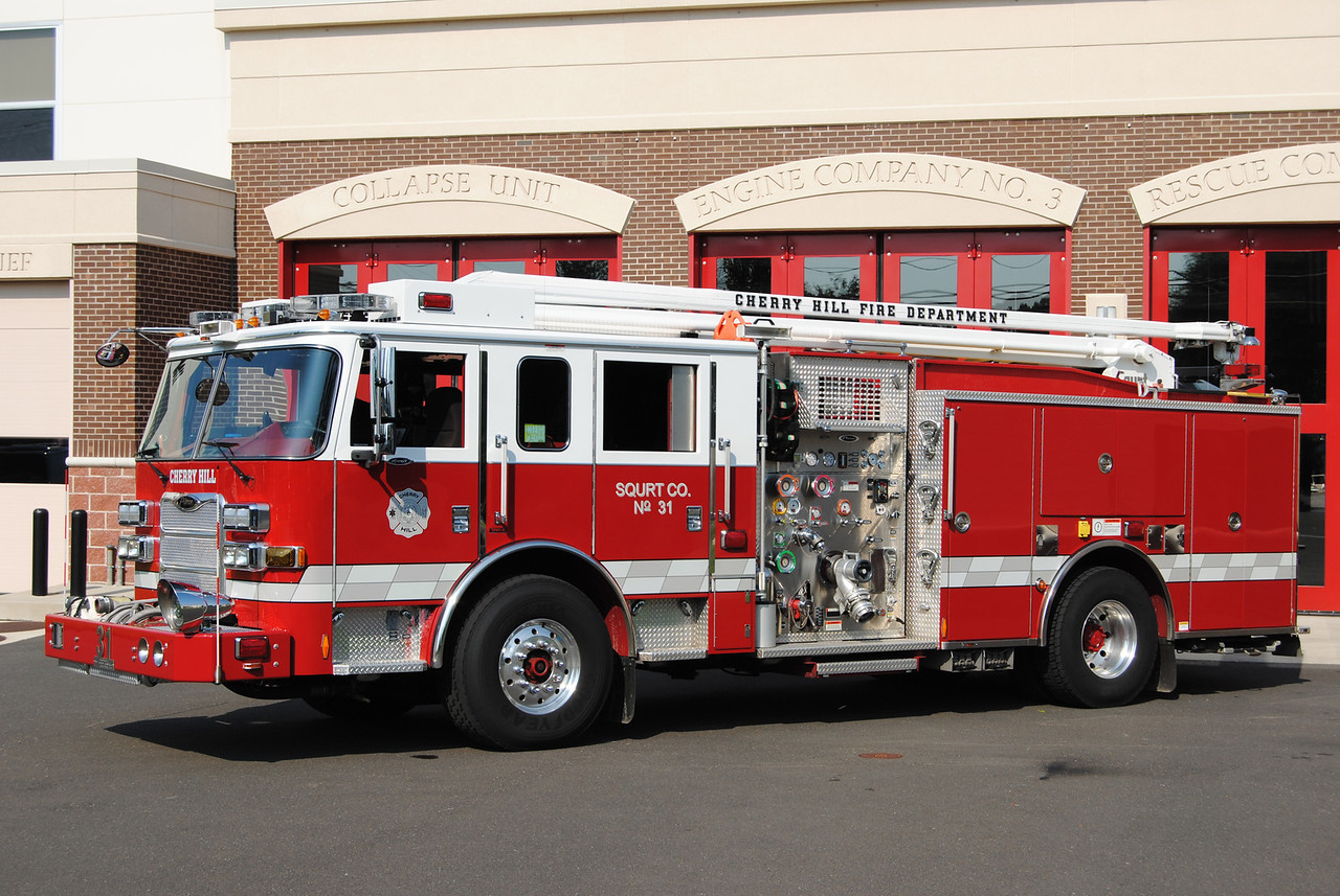 Cherry Hill Fire Department Squirt 13-31