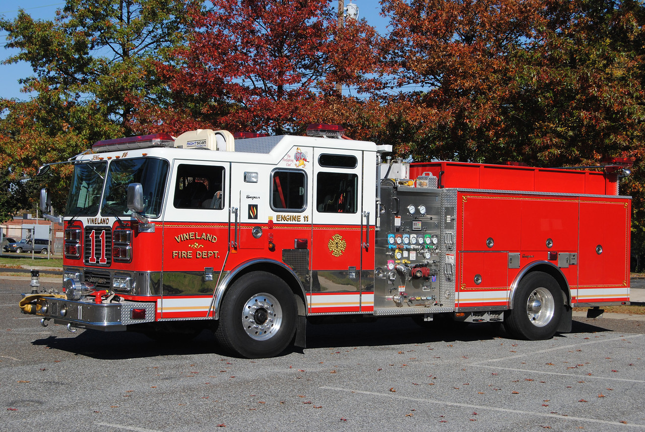 Vineland Fire Department Engine 11