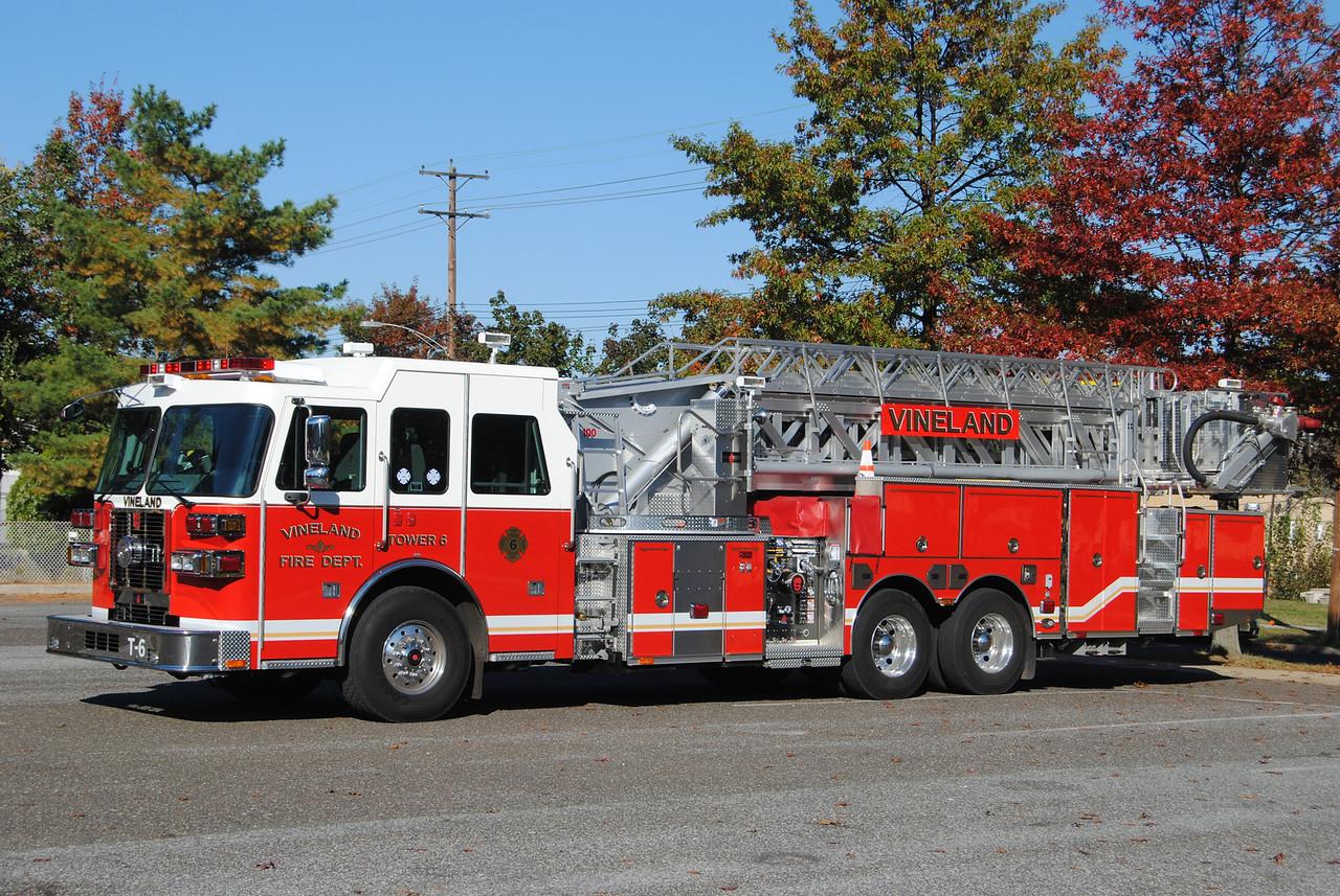 Vineland Fire Department Tower 6