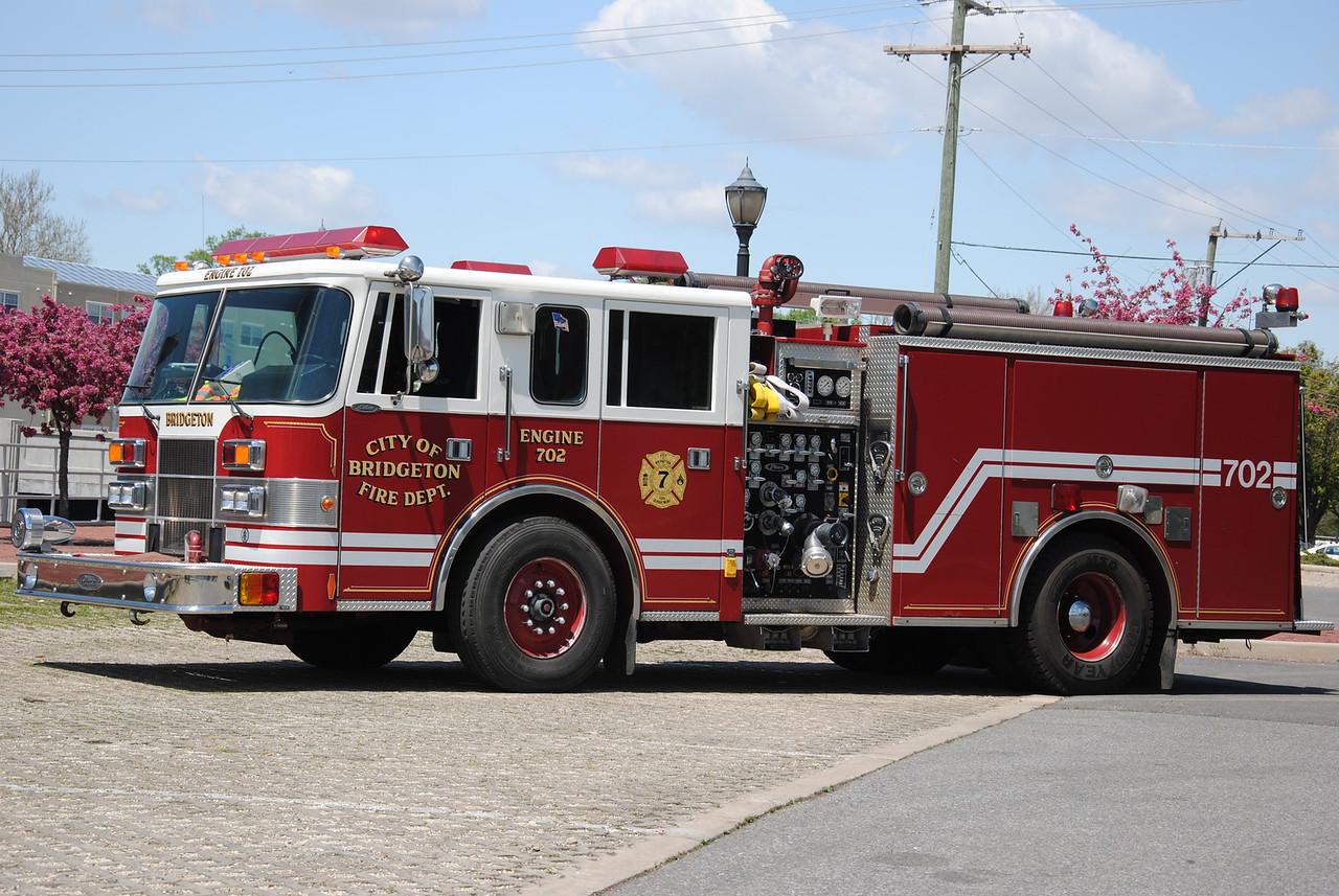 Bridgeton Fire Department, Bridgeton Engine 7-02