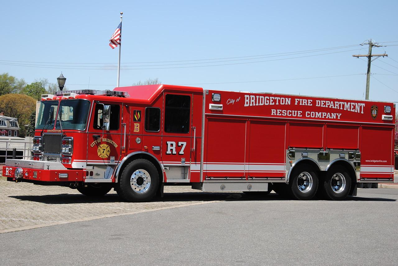 Bridgeton Fire Department, Bridgeton Rescue 7
