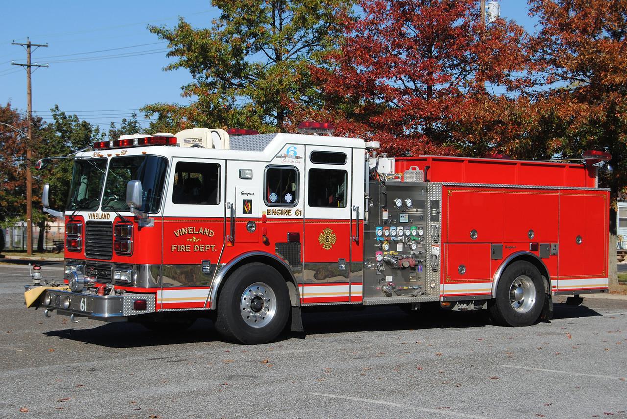 Vineland Fire Department Engine 61