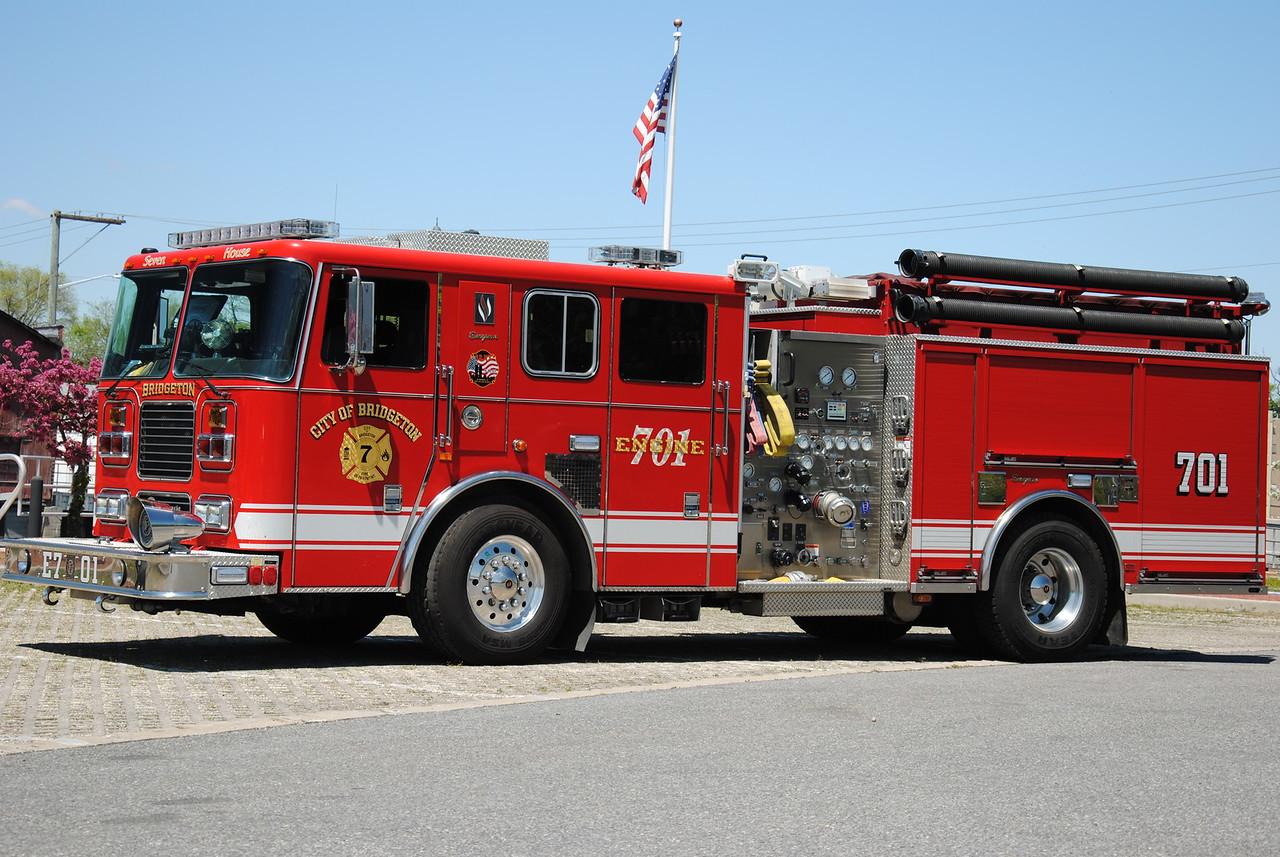 Bridgeton Fire Department, Bridgeton Engine 7-01
