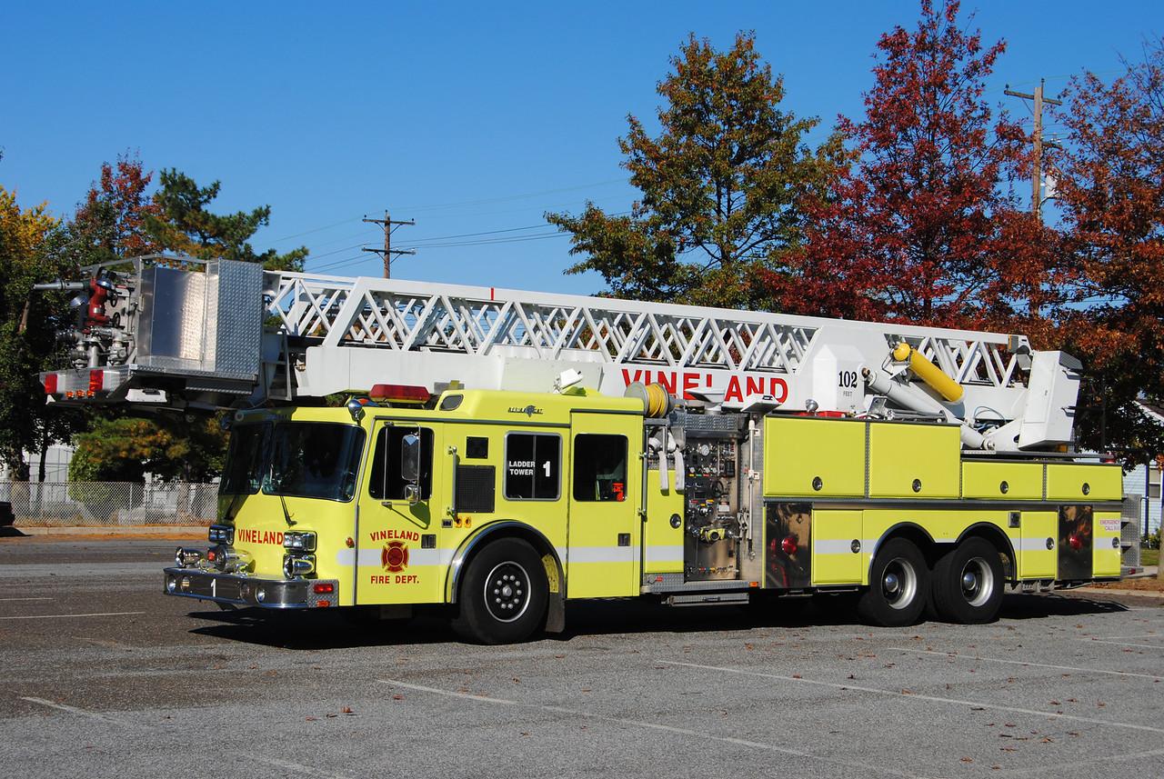 Vineland Fire Department Tower 1