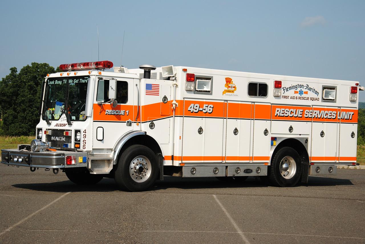 Flemington-Rartian First Aid & Rescue Squad, Flemington NJ Rescue 49-56
