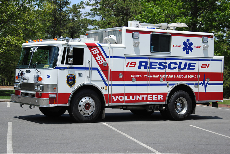 Howell Twp First Aid & Rescue Squad Rescue 19-65
