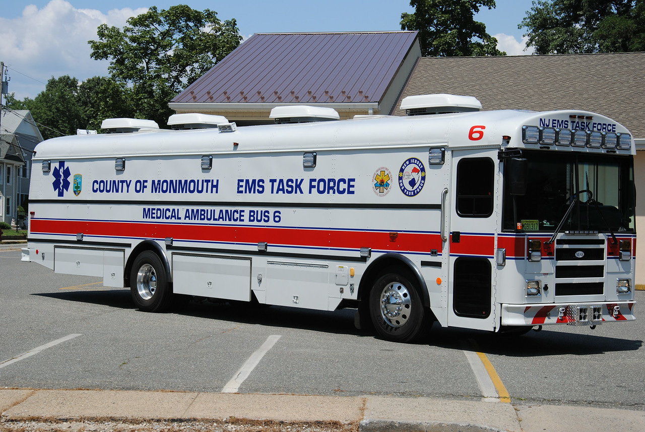 Monmouth County EMS Task Force Medical Bus 6, Keyport First Aid Squad
