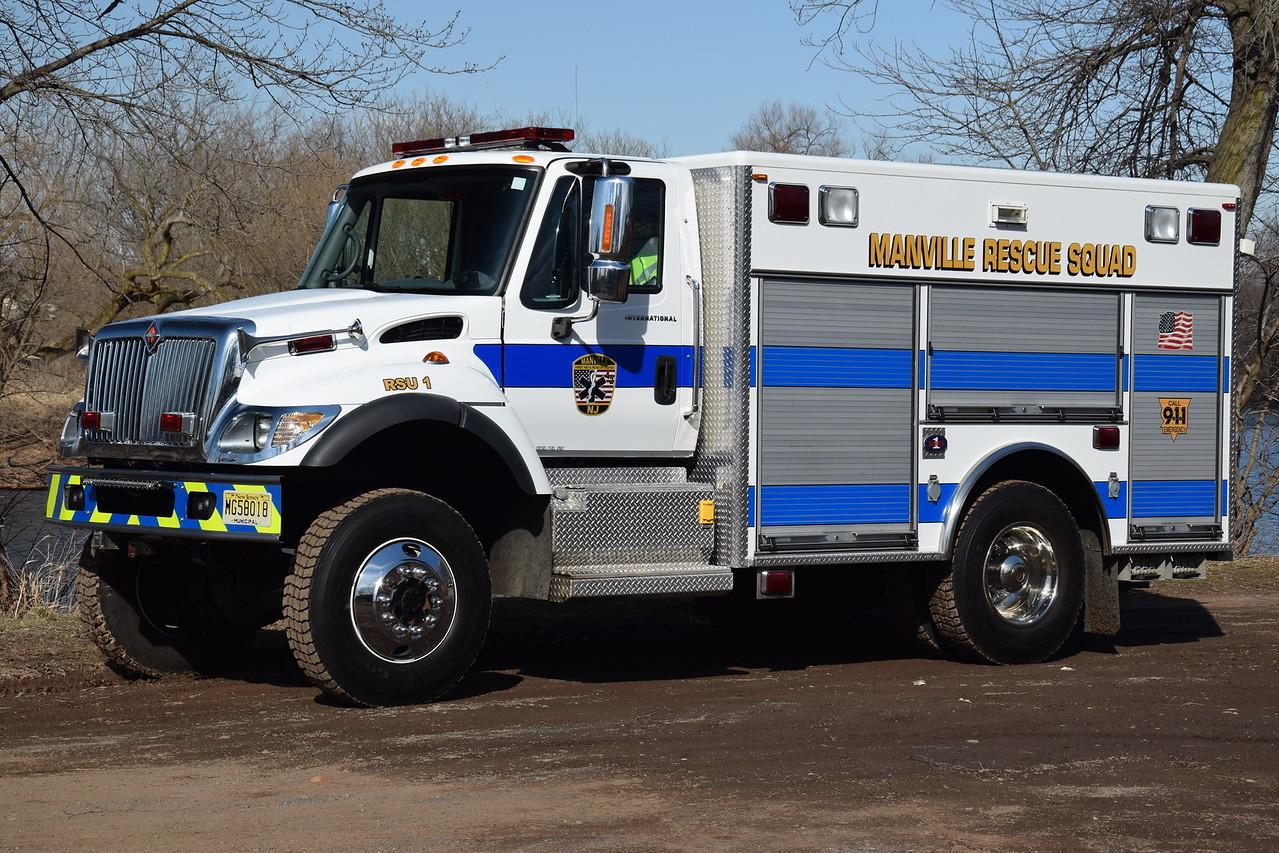 Manville Rescue Squad Rescue 42