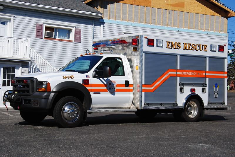 Hamilton First Aid & Rescue Squad Rescue 34-1-65