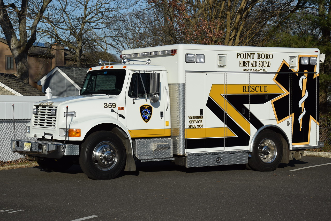Point Pleasant First Aid Squad Rescue 359