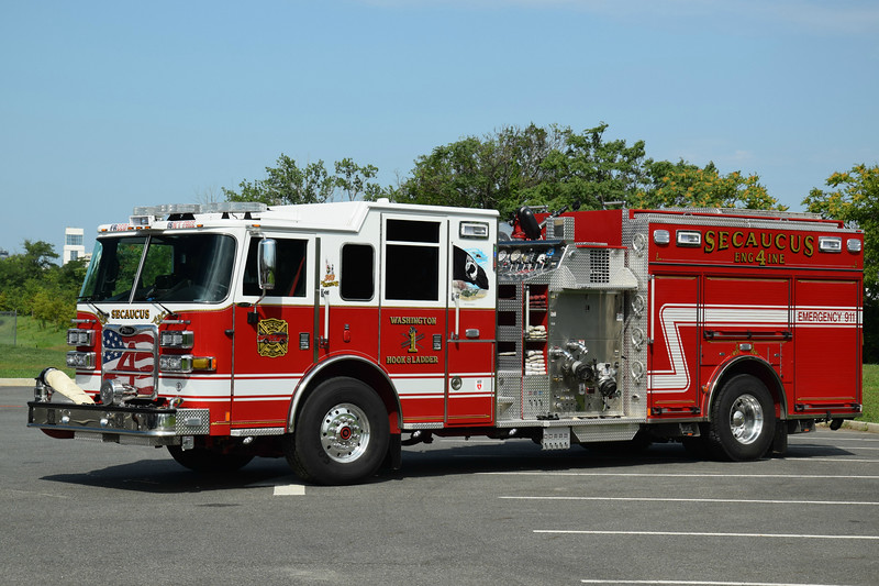 Secaucus Fire Department Engine 4