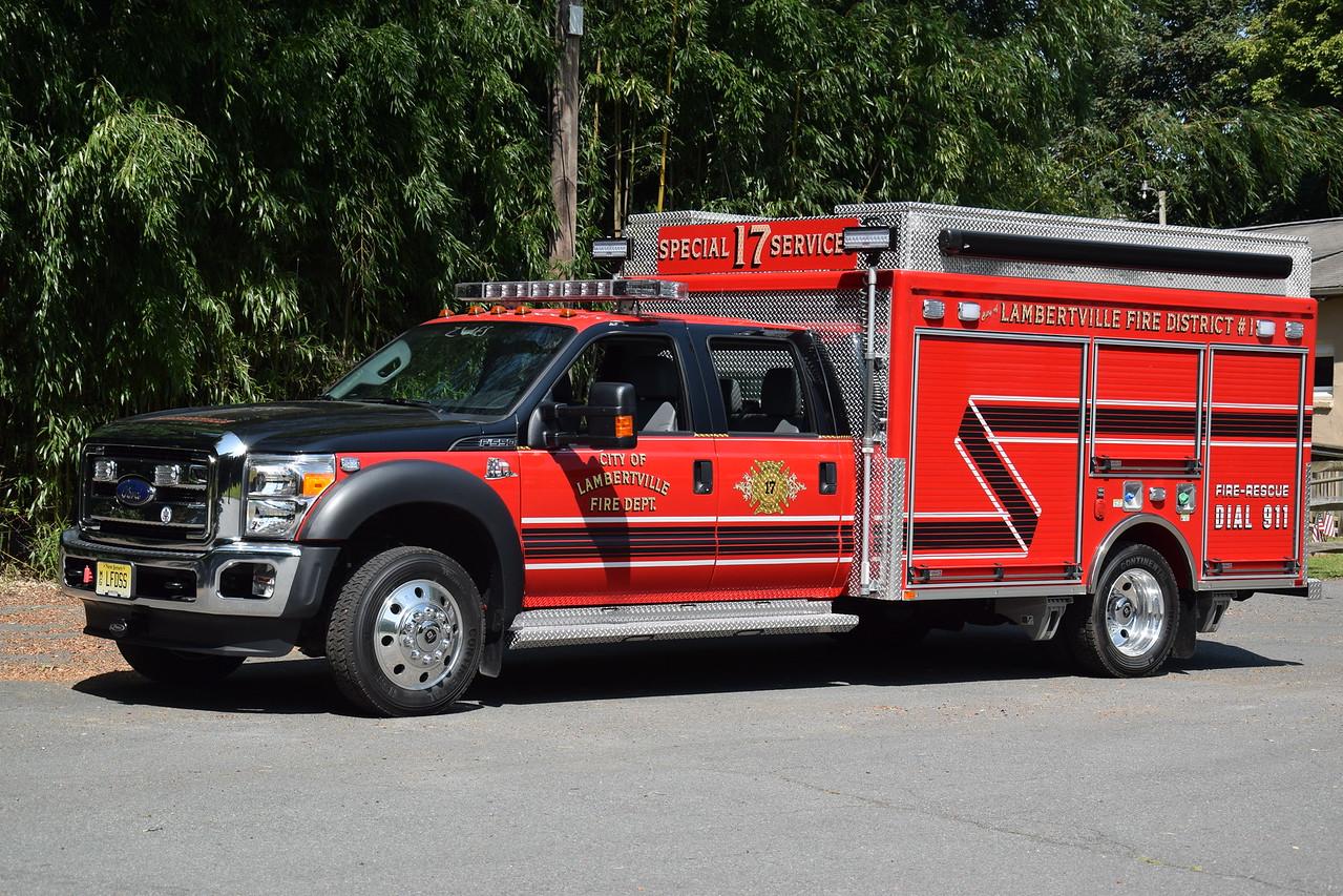 Lambertville Fire Department Special Services 17