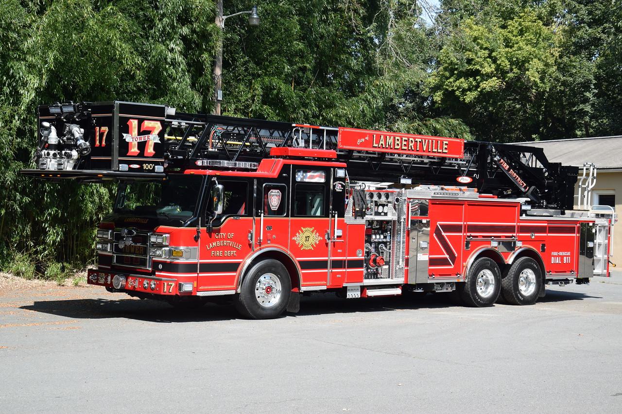 Lambertville Fire Department Tower 17