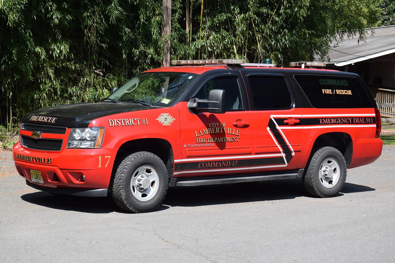 Lambertville Fire Department Chief 17