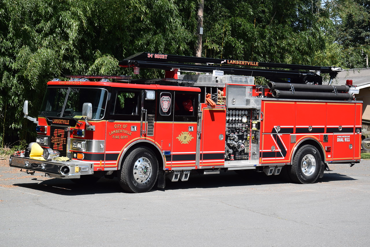 Lambertville Fire Department Squrt 17