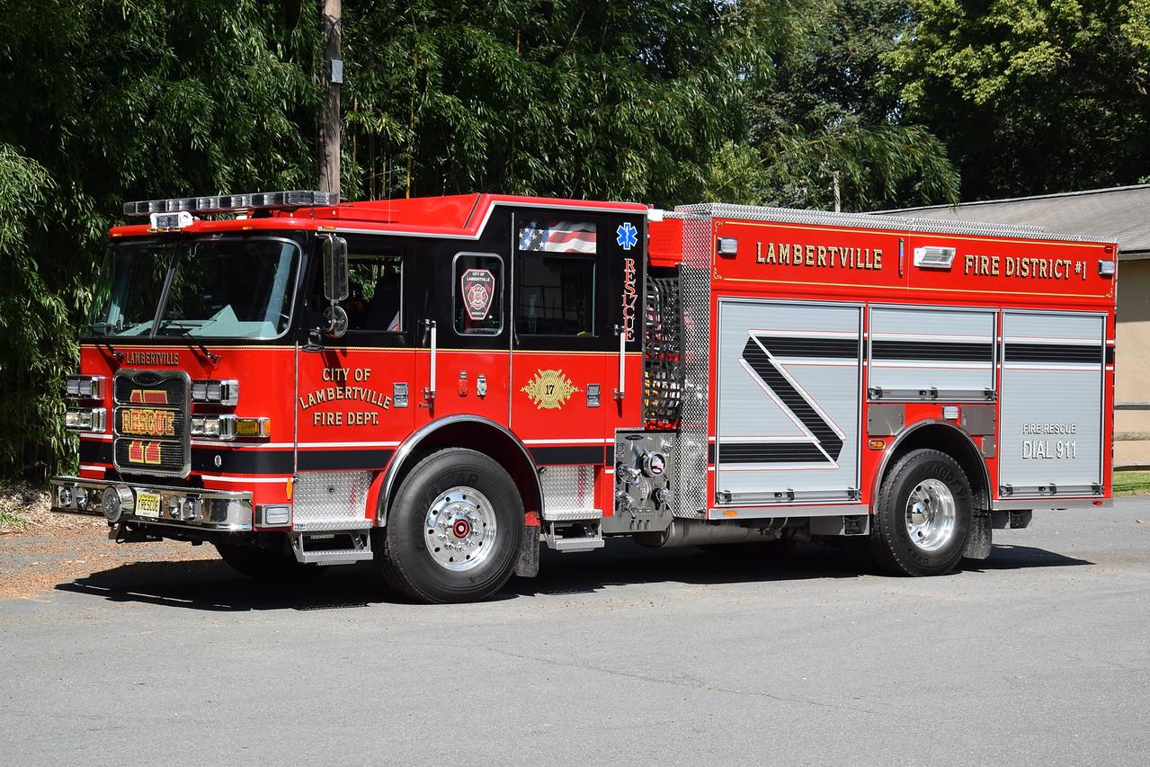 Lambertville Fire Department Rescue 17